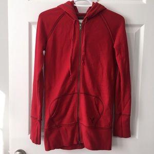 AE long slim hoodie